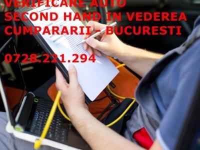 Verificare - testare auto second hand in vederea