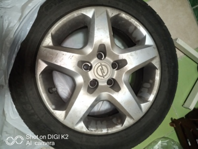 Vand set roti complete opel astra h