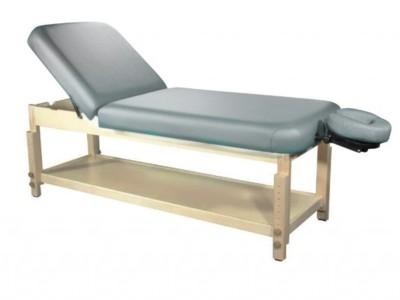 Masa masaj fixa din lemn cu spatar rabatabil - pa