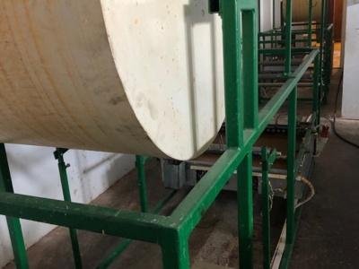 Utilaj tambur automat pentru lumanari de cult