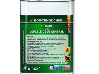 Diluant pentru vopsele alchidice emex