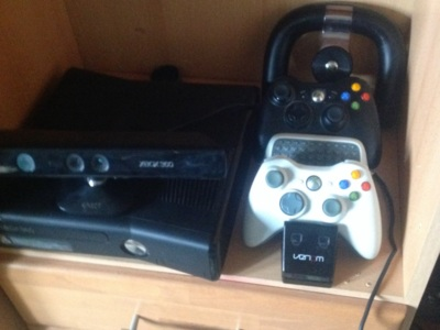 Xbox 360 slim kinect controller