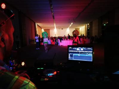Dj | sonorizare | lumini | fum