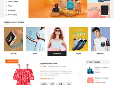 Creare site magento 2 - magazine online magento 2