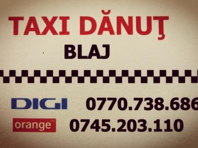 Taxi dănuț blaj