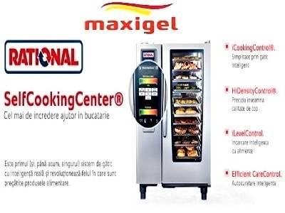 Maxigel va ofera rational self cooking center