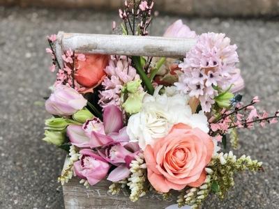Aranjamente florale/buchete/plante/tablou licheni
