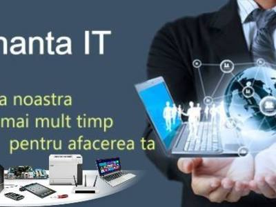 Mentenanta it hardware si software.