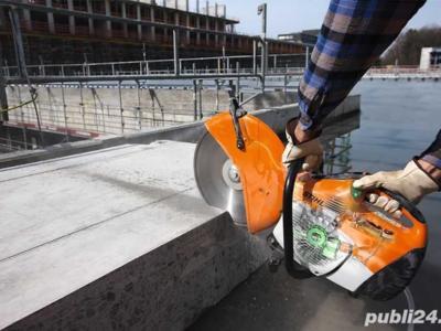 Masina de debitat beton spre inchiriere