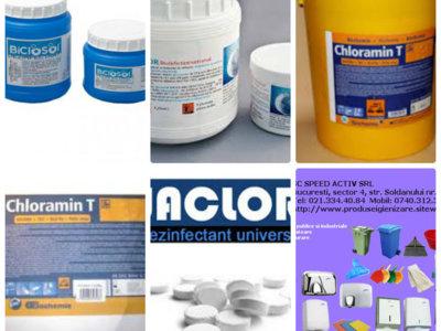 Pastile eferfescente cloramina quik jav 1kg