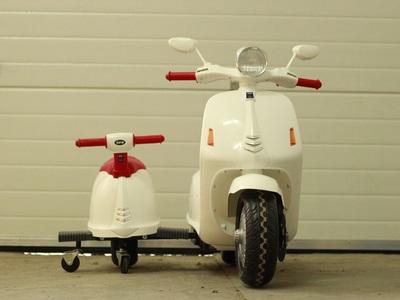 Scuter electric city scooter 2 locurii alb nou