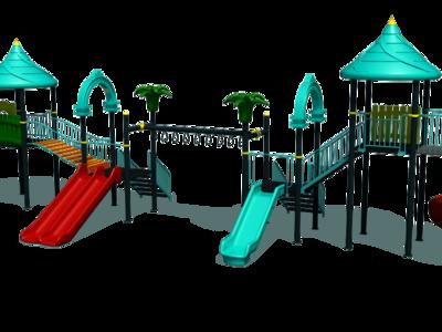 Complex de joaca pentru copii / ansamblu de joaca