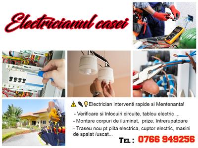 Electrician / instalatii electrice si interventi