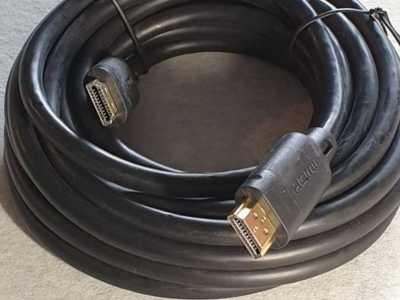 Cablu hdmi tata - hdmi tata la 5m, placat cu aur
