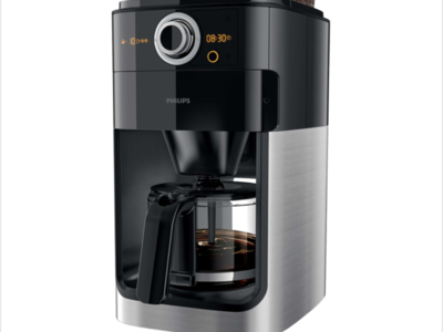 Cafetiera philips grind & brew