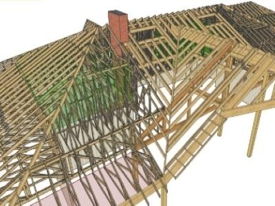 Sarpante/structuri lemn cert.en 14250/eurocod 5