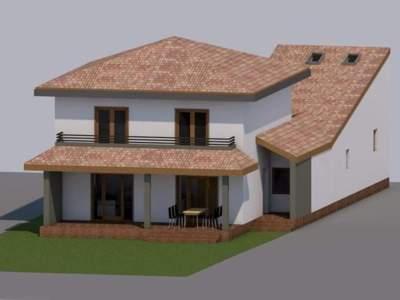 Vand teren cu proiect de casa