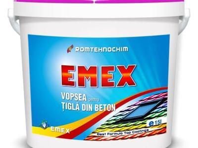 Vopsea pentru tigla si azbociment emex