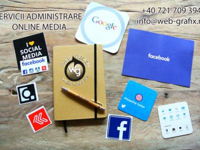 Administrare si adăugare conținut website si pagin