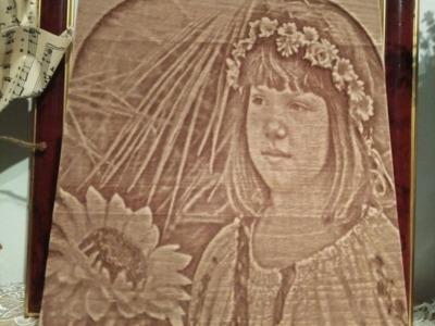 Cadouri gravate in lemn 3d dimensiune 15x20 cm