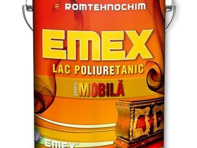Lac poliuretanic pentru mobila bicomponent emex