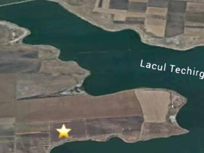 Vand teren lac techirghiol, constanta