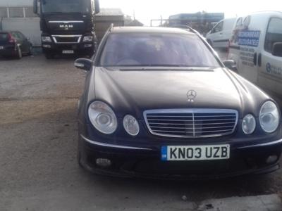Mercedes e class w211 din 2004, 3.2 cdi , tip 648.