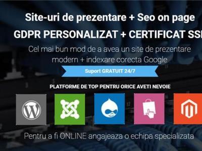 Creare website | mentenanta | shop online | seo
