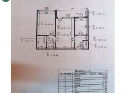 De vanzare apartament 2 camere - alexandru obregia
