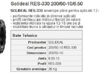 Anvelopa plina res-330 200/50-10/6.50 quick