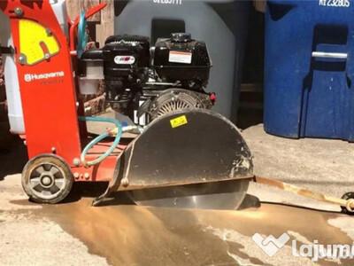 De inchiriat - tăietor beton-asfalt husqvarna