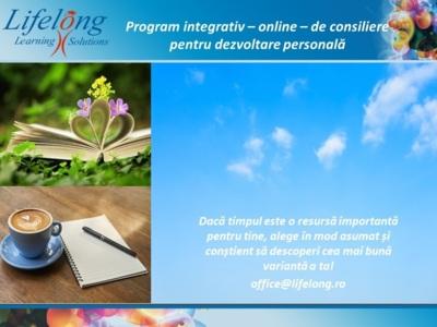 Program de consiliere online pentru dezvoltare