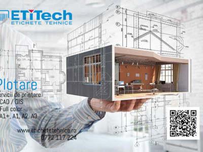 Printare plotare planuri de construcții și arhitec