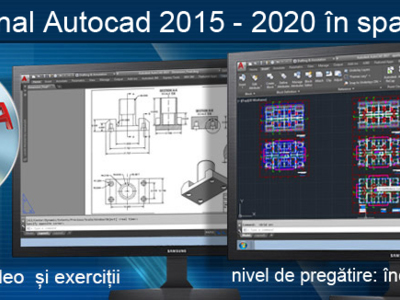 Cursuri autodesk autocad inventor 3d studio max