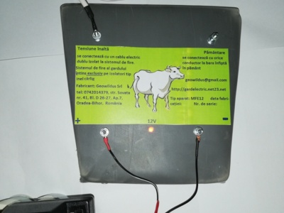 Gard electric animale  2 ,4 sau 6 joule,12 km