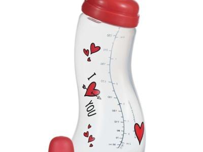 "Biberon anticolici s ""i love you"" 250 ml"
