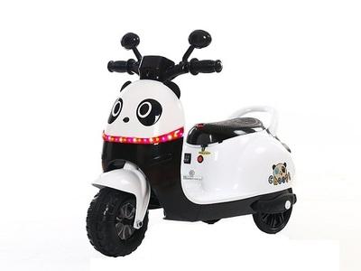 Tricicleta electric panda alb nou