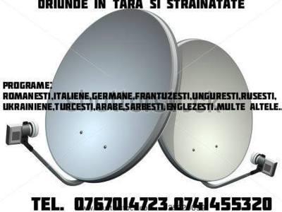 Antene tv si radio fara abonament 0767014723