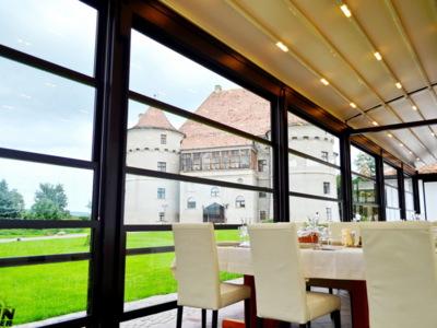 Sisteme electrice de sticla pentru terase