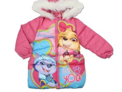 Geaca de iarna roz paw patrol be happy & be you