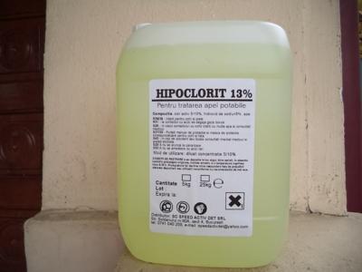 Hipoclorit de sodiu minim 12,5%