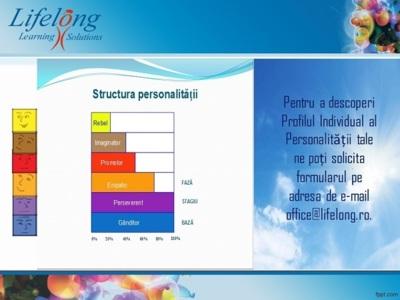 Realizarea profilului individual al personalității
