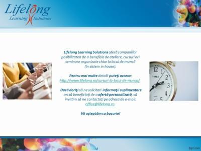 Lifelong Learning Solutions SRL