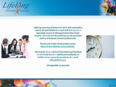 Lifelong Learning Solutions SRL